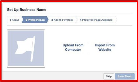 how to create a facebook page as a business