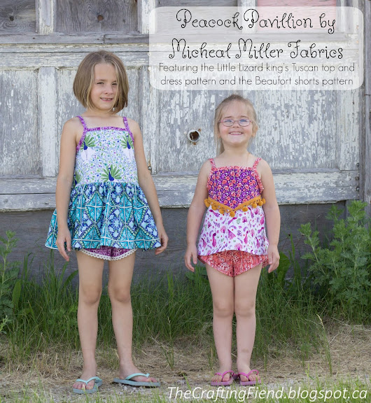 Summer Play featuring Michael Miller Fabric and Little Lizard King Patterns