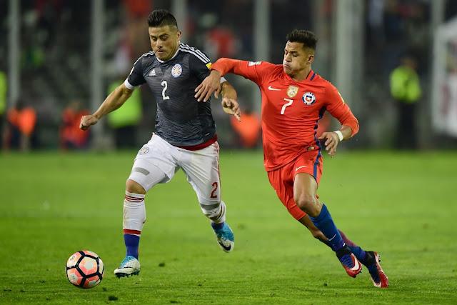 Chile y Paraguay en Clasificatorias a Rusia 2018, 31 de agosto de 2017