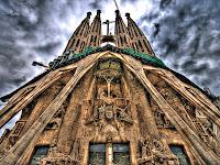 Sagrada Familia Barcellona finita