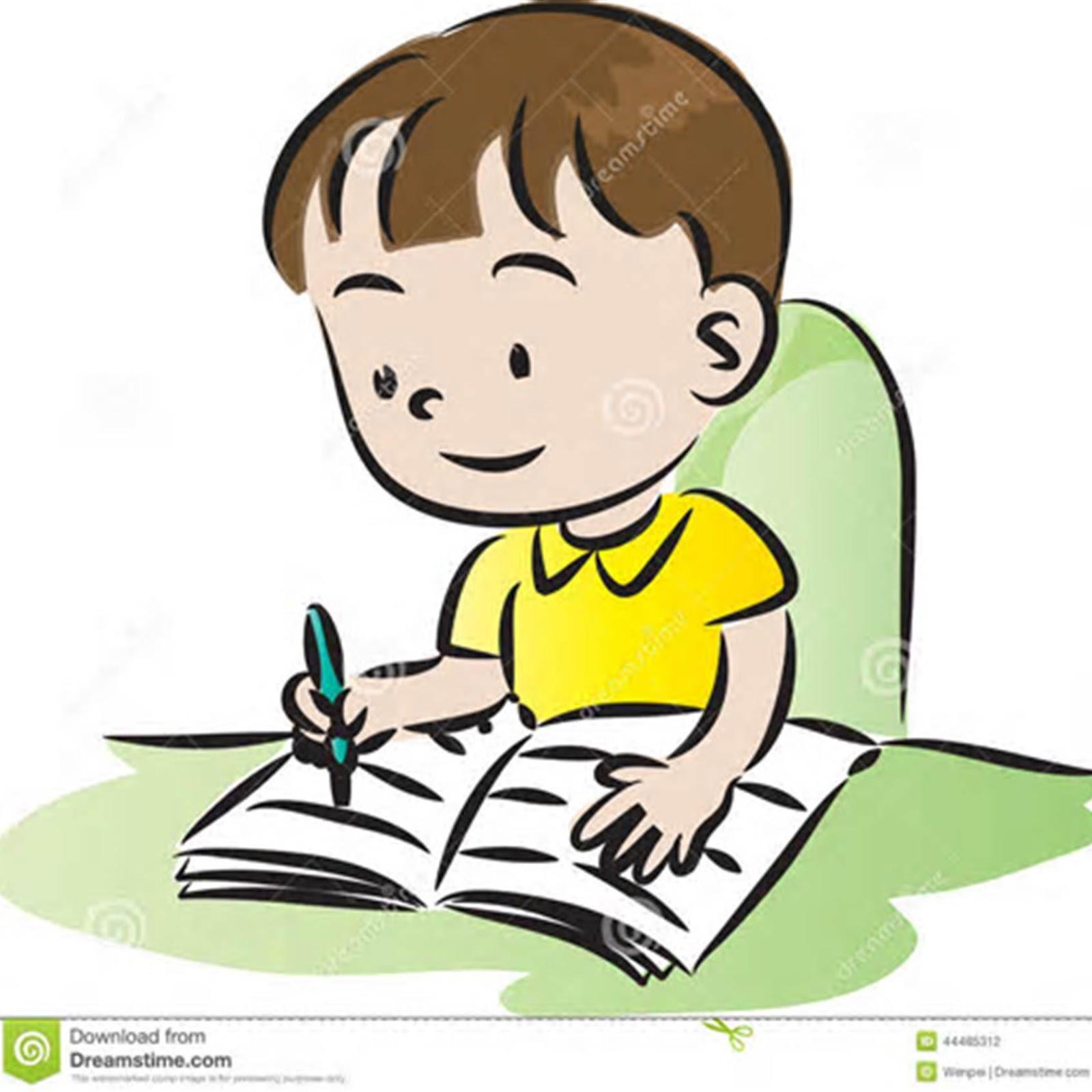 I do my homework in english