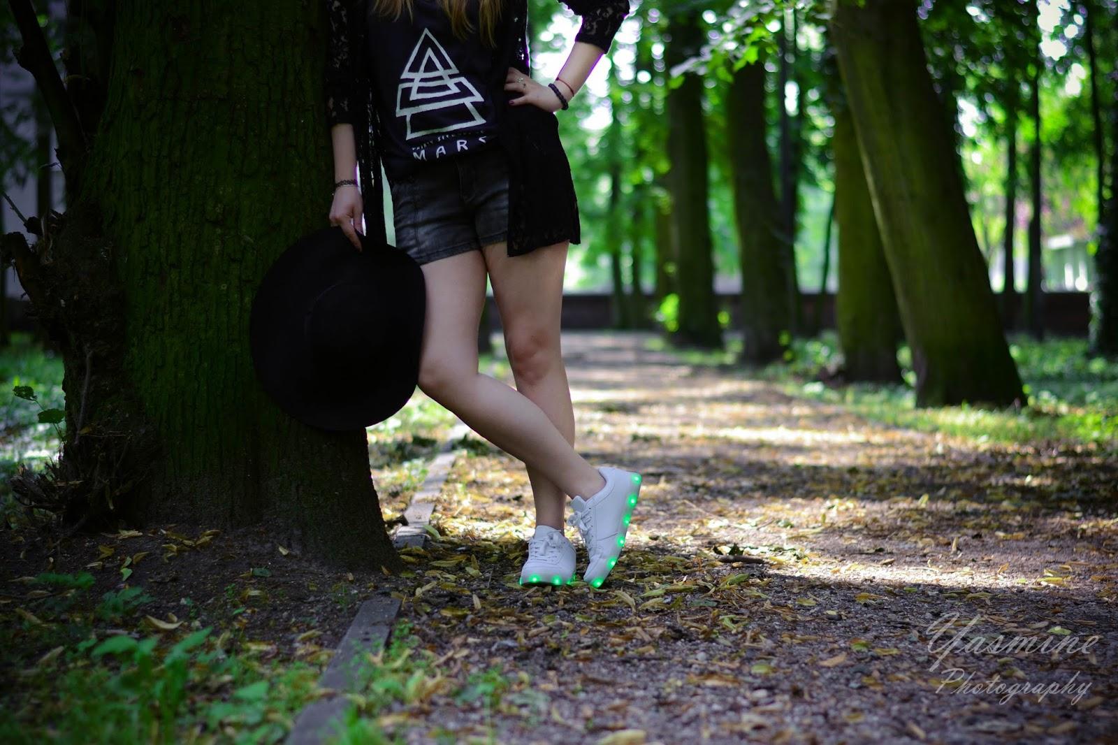 renee shoes lato z renee white sneakers disco lights biale buty z diodami led. inspiration