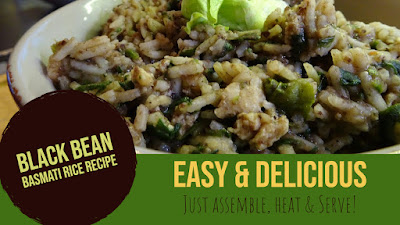 Black Bean Basmati Rice Recipe