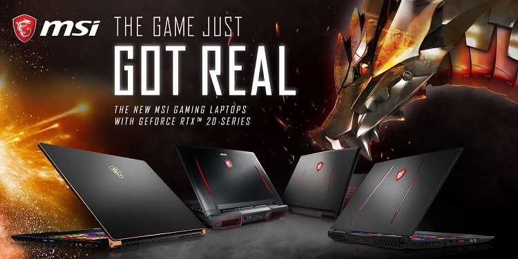 CES 2019: MSI Unveils New GS75 Stealth and Full Gaming Laptop Lineup with NVIDIA RTX