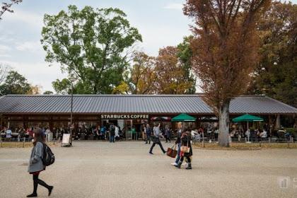 Inilah Kedai Kopi Starbucks di Jepang yang Kece Badai