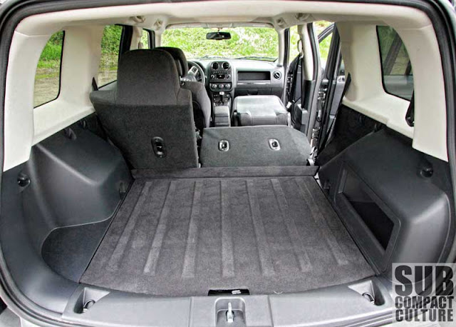 2012 Jeep Patriot Latitude 4x4 cargo area - Subcompact Culture