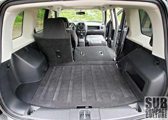 2012 Jeep Patriot Latitude 4x4 cargo area - Subcompact Culture