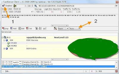حصريا طريقة تشغيل سيرفر النيوكام لبرنامج WinCSC على كروت الستالايت