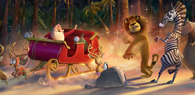 Merry Madagascar (2009) Top Best Animated Christmas Movies To Download Or Watch Online