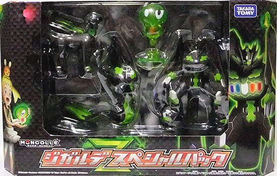 Takara Tomy Monster Collection MONCOLLE Zygarde special pack