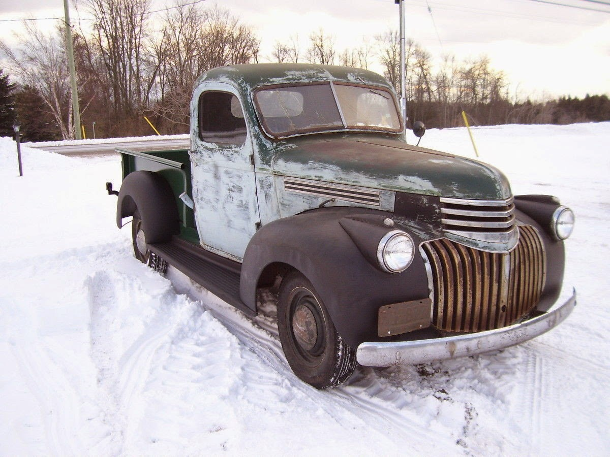 All American Classic Cars: 1946 Chevrolet Pickup Truck