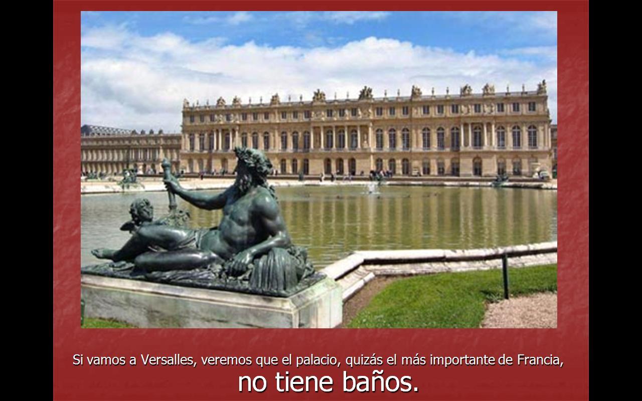la página de toni: El Palacio de Versalles y los baños