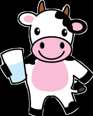 render vaca vaso de leche