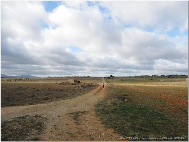 De nuevo campo abierto hacia Landete