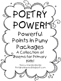 First Grade Wow: Poetry Power
