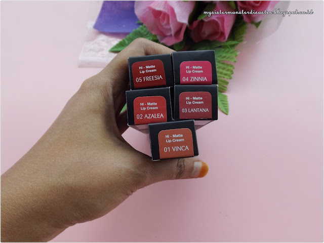 Review Purbasari Hi Matte Lipcream All Shades dan Swatches