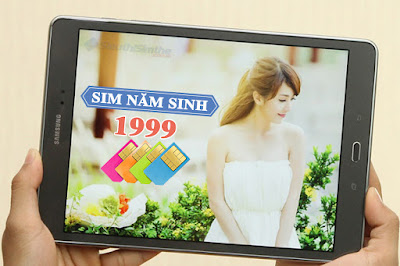 Sim năm sinh 1999