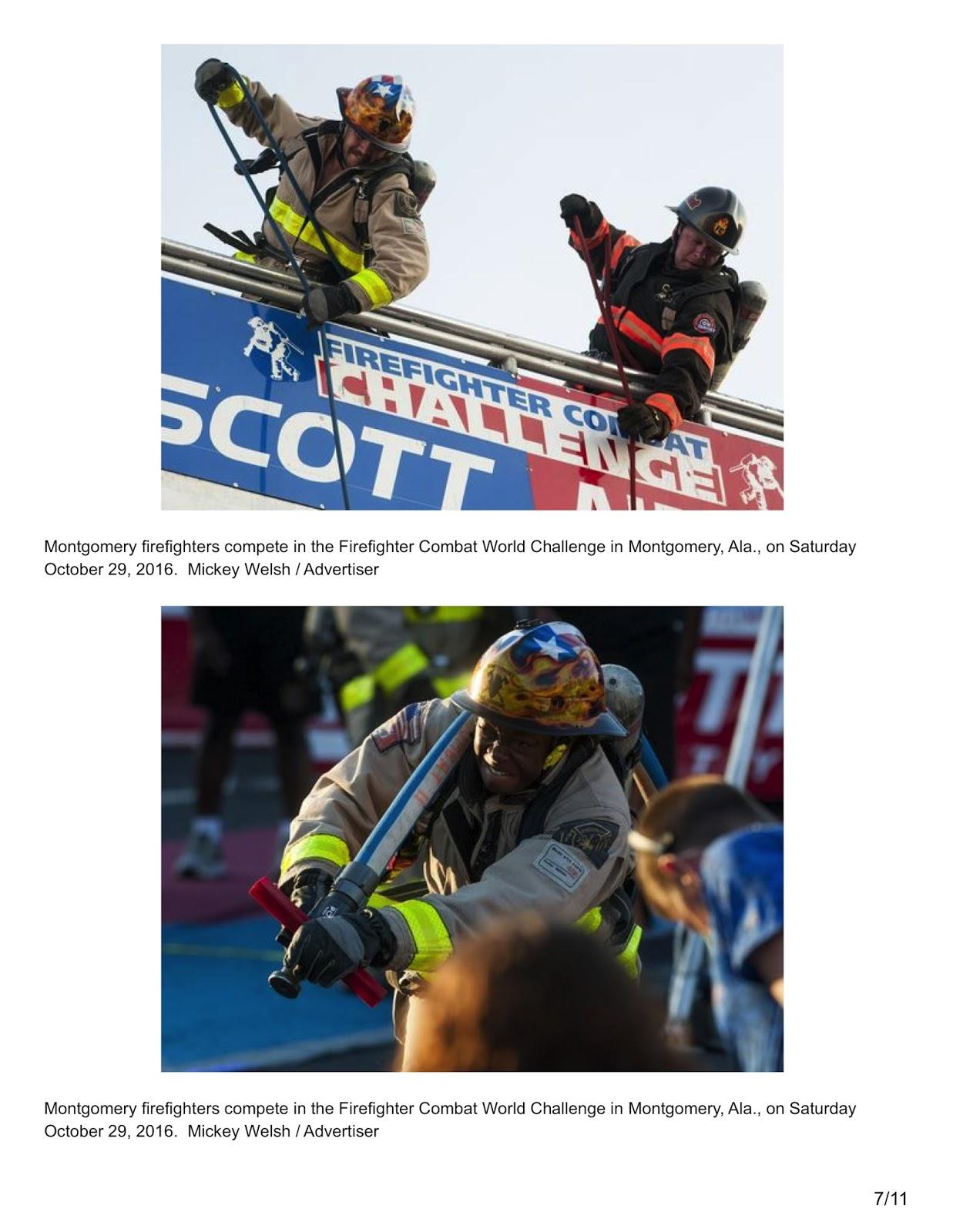 3M | Scott Firefighter Combat Challenge®: Montgomery