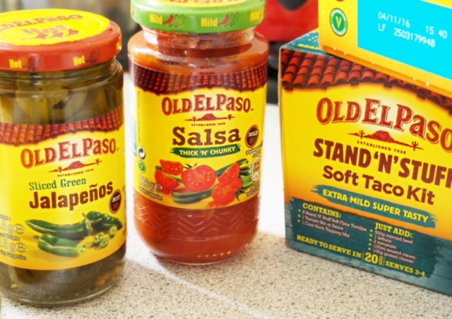 old el paso stand n stuff tacos