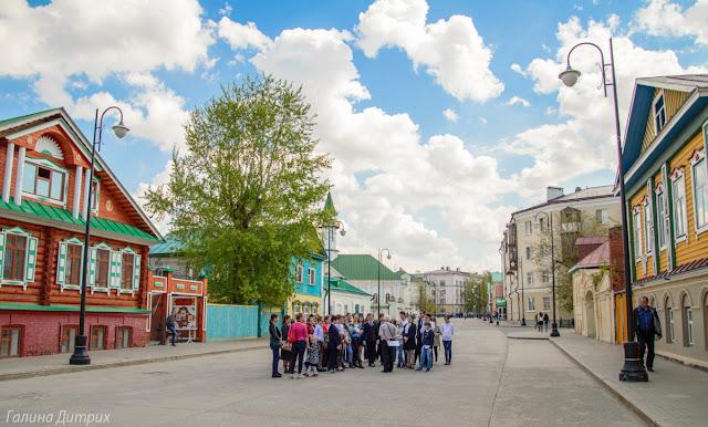 туристы в Казани