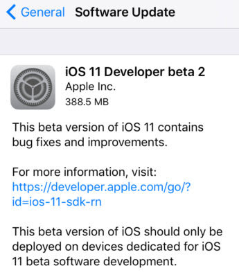 Apple releases iOS 11 beta 2 to developers. Here's How To Download and install iOS 11 beta 2 without Developer Account on iPhone, iPad or iPod Touch