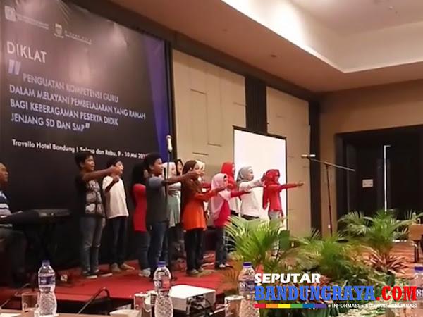Diklat Kompetensi Guru Disdik Kota Bandung Mei 2017