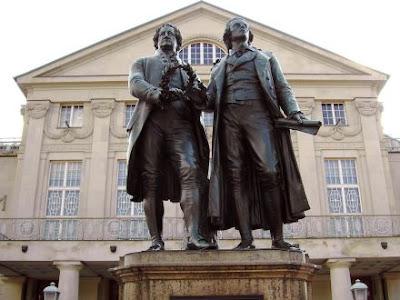 Statue Goete_Schiller_Weimar