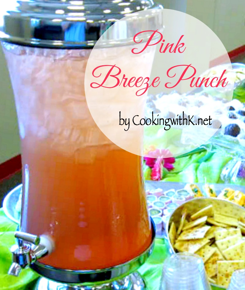 Cooking With K Pink Breeze Punch
