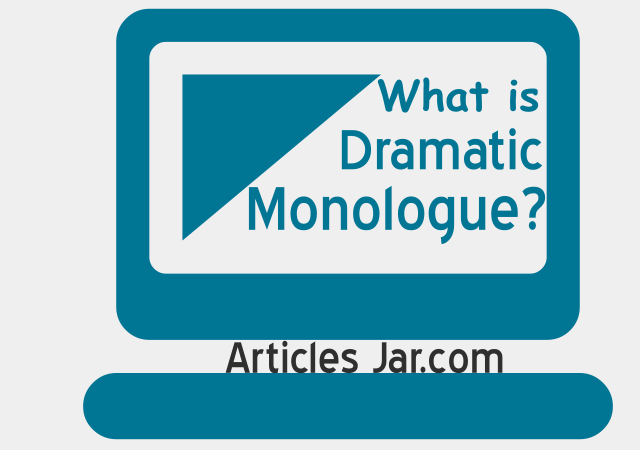 dramatic monologue