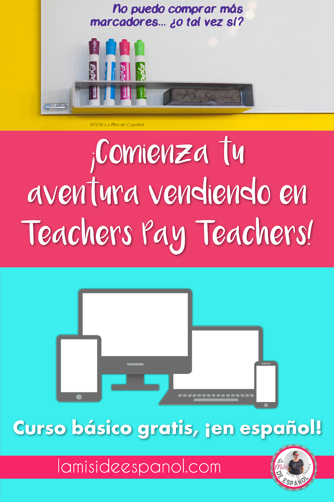 Desde que empecé mi tienda Teachers Pay Teachers hace casi un año, o  incluso antes, me preguntaba por qué había tan pocos recursos en español en  TpT.