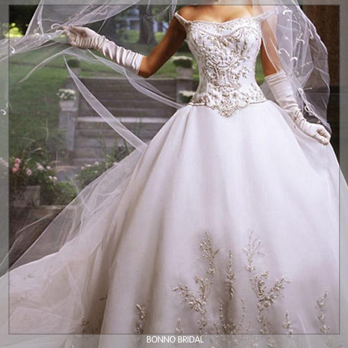 Pretty Wedding Dresses: The (Not So) Virgin Mary: Tyin' The Knot