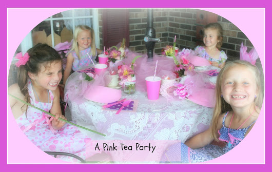 A Pink Tea with Nana and Grammy