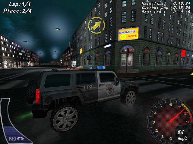 تحميل لعبة سباق سيارات البوليس Crazy Police Racers - تحميل العاب