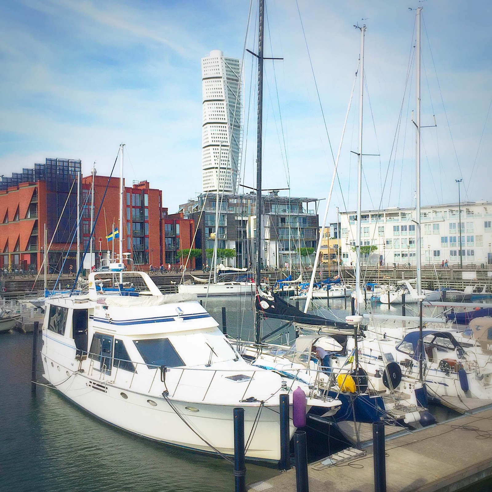 West Havn in Malmo with the Turning Turso