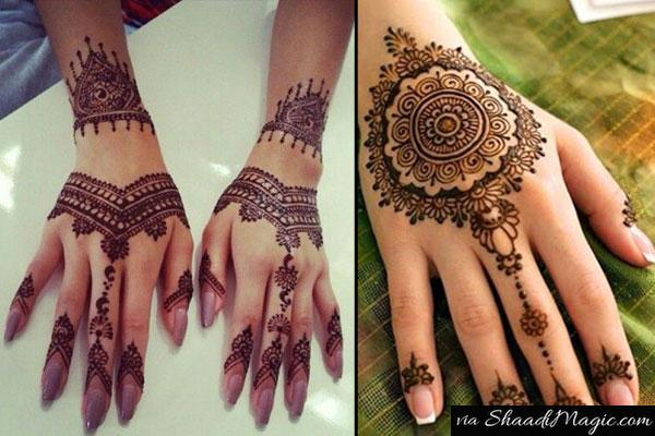 Modish Mehndi Designs For Hands