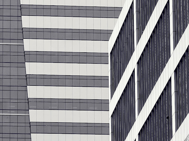 Abstraction of buildings.  Photographed by Bernard Eirrol Tugade