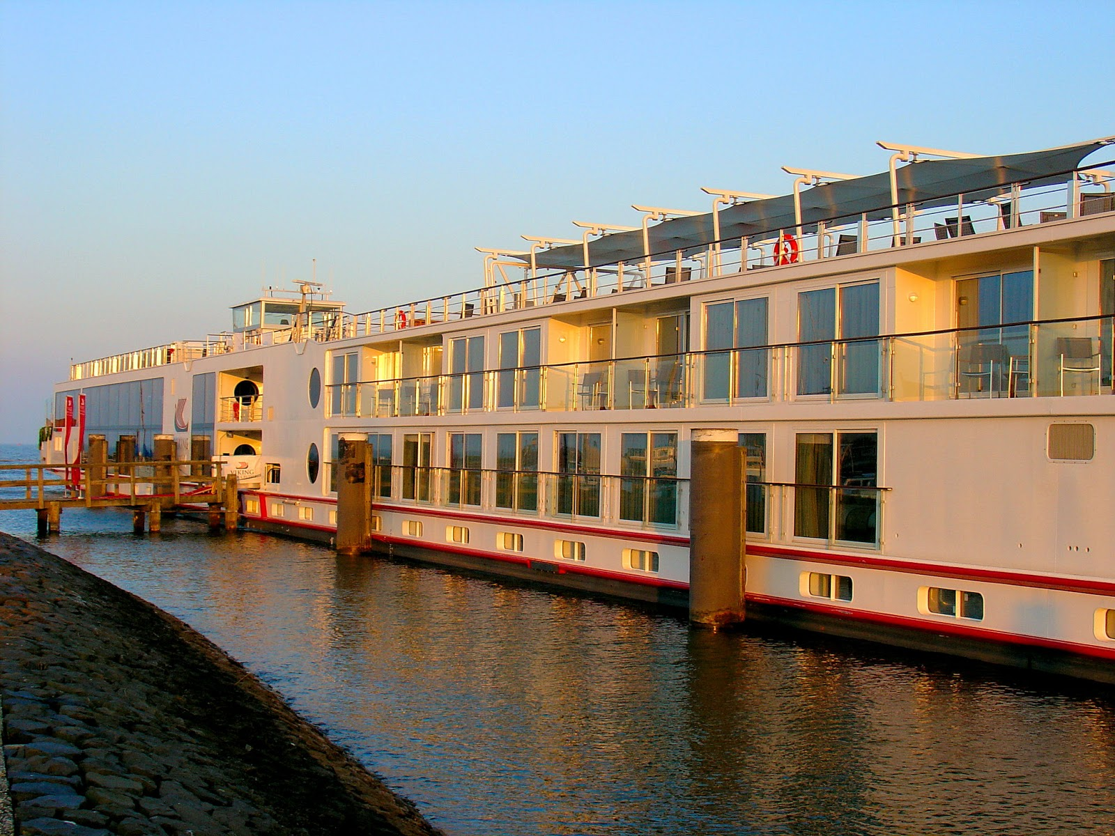 In 2012, Viking Cruises launched a new generation of river-going vessels—the Viking Longships.