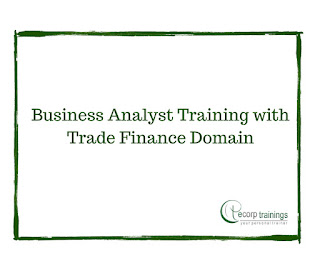 Business Analyst Training with Trade Finance Domain Training in Hyderabad