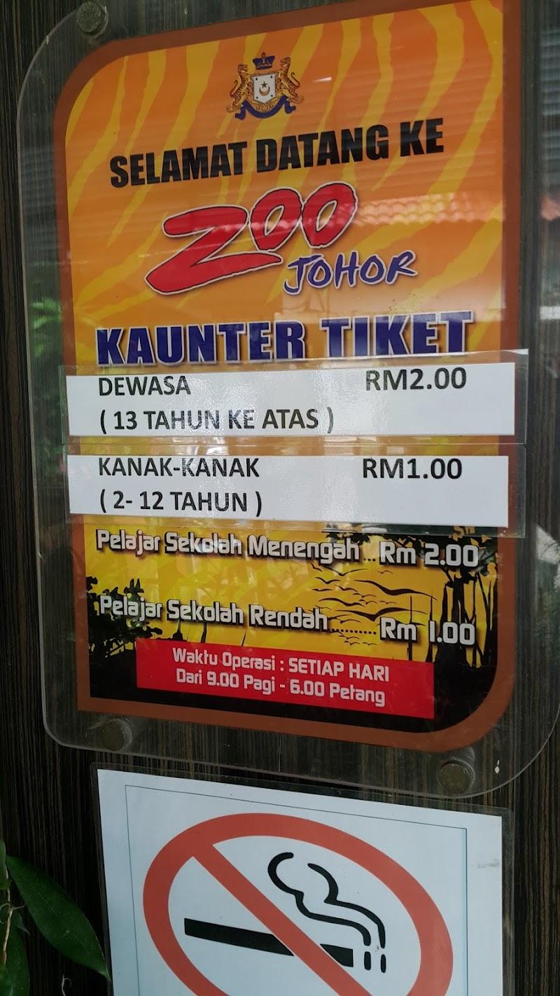 Zoo Johor edisi Aril