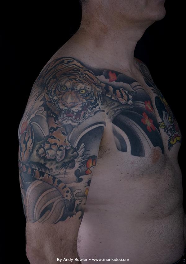 Monki Do Tattoo Studio: Japanese Half Sleeves And Chest