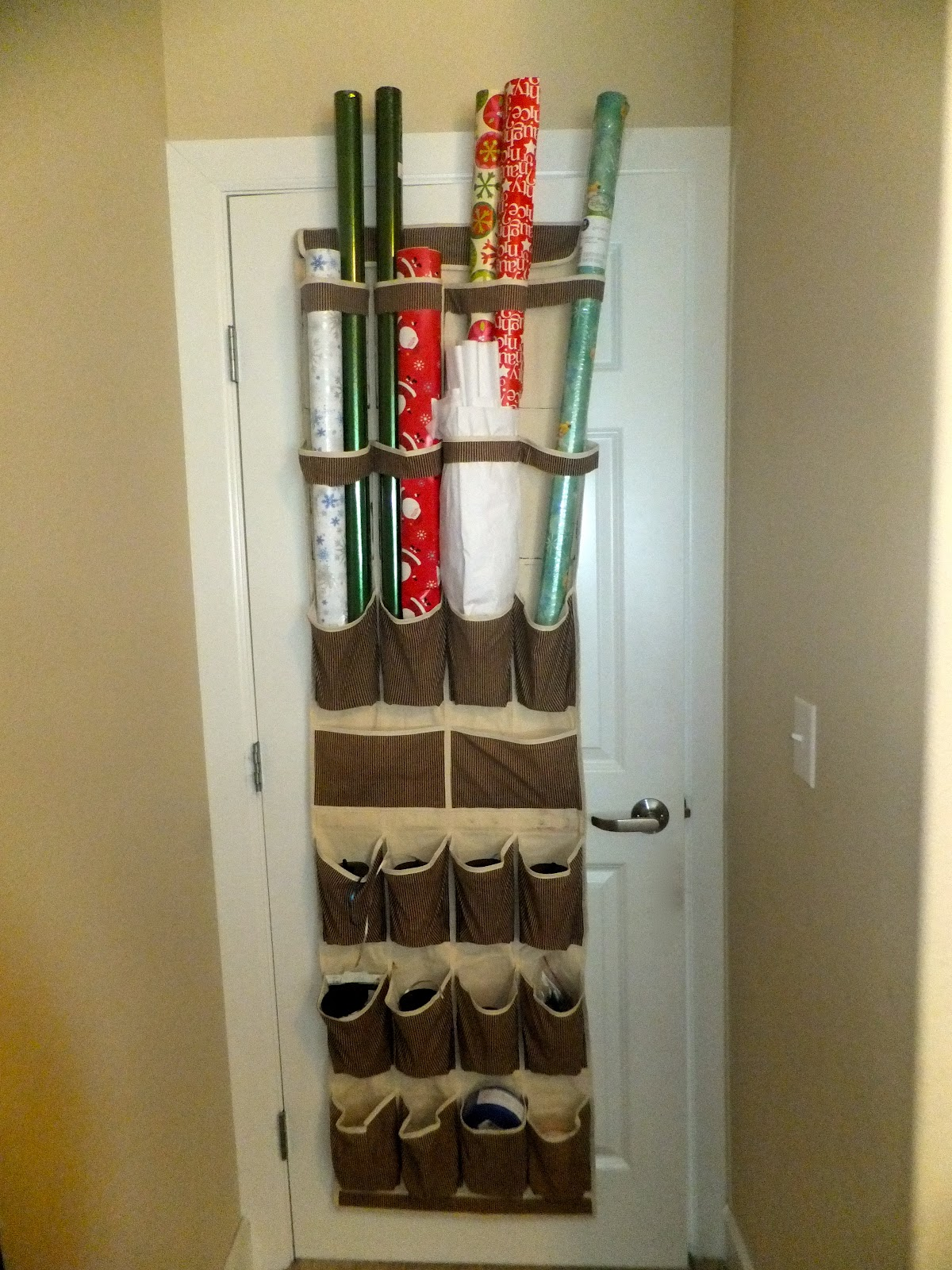 Diy Wrapping Paper Storage Center Pure Genius