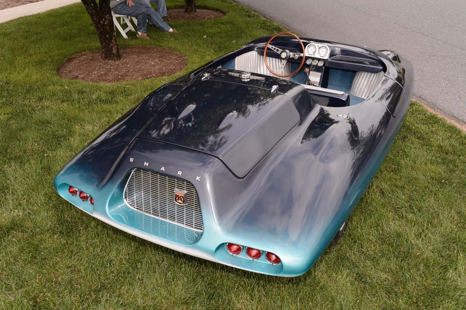 Bubbas Garage Enjoying Vintage Cars during The Elegance at Hershey