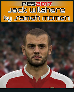 PES 2017 Faces Jack Wilshere by Sameh Momen