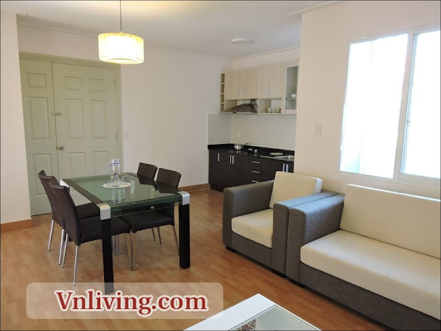 2 Bedrooms service apartment for rent in Thao Dien District 2