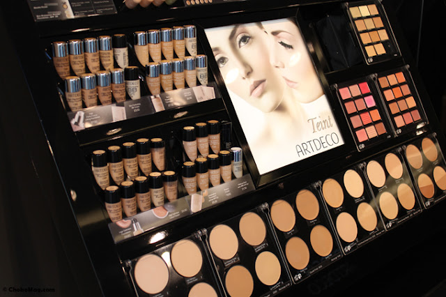 Lojas de maquiagem M.A.C. em Paris