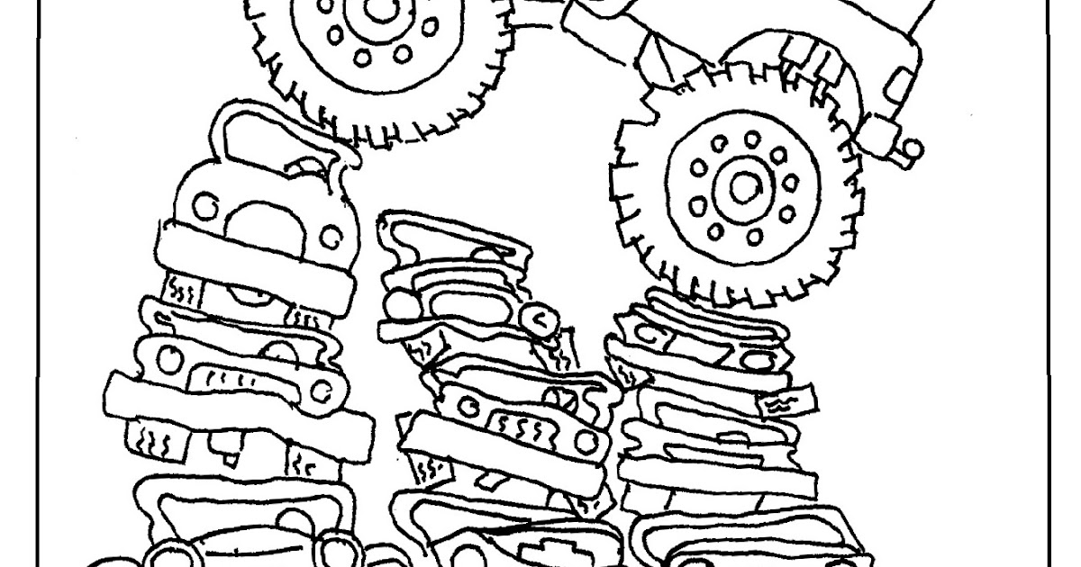 Coloring Pages for Kids by Mr. Adron: Printable Monster