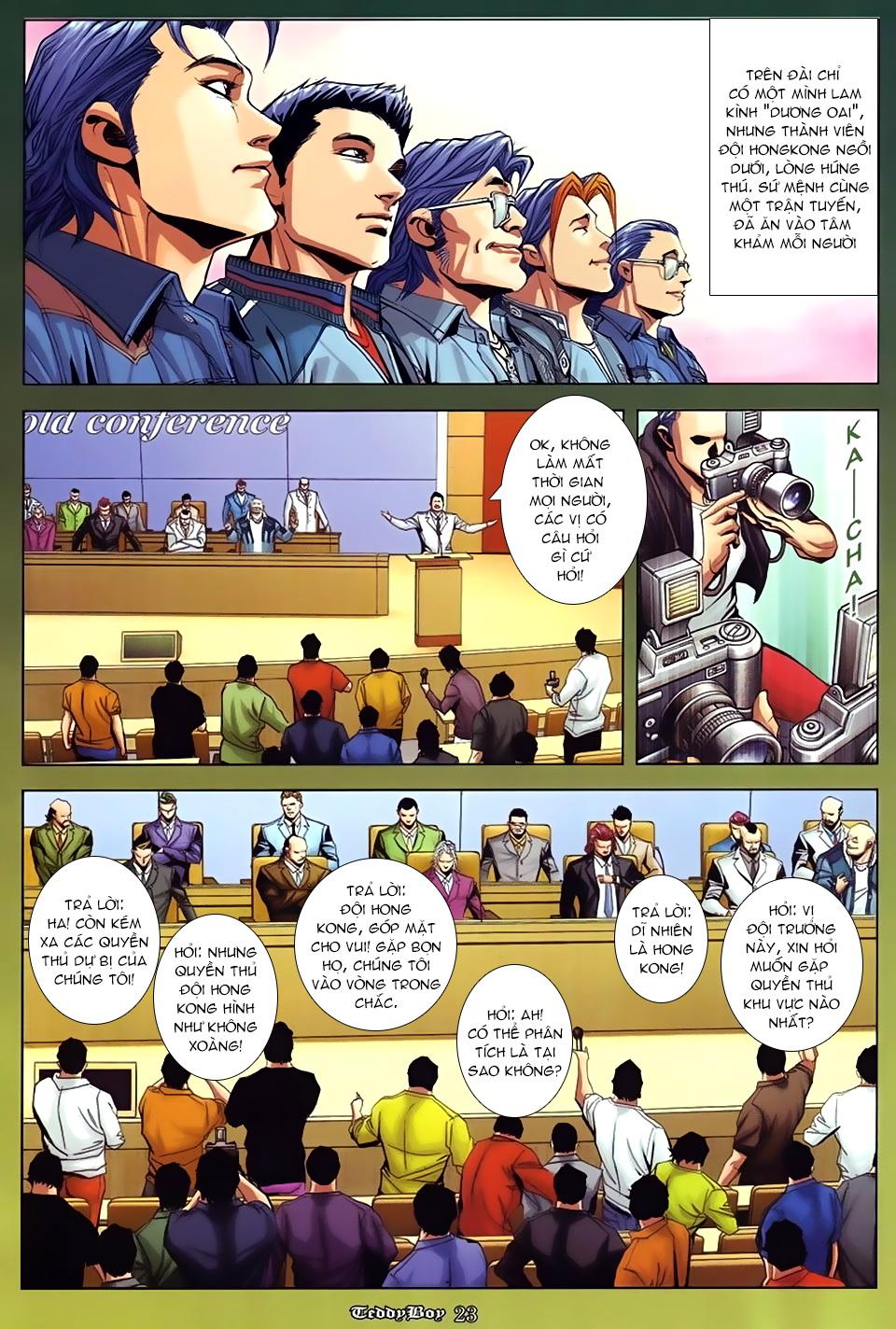 Người Trong Giang Hồ NetTruyen chap 870 - Trang 17
