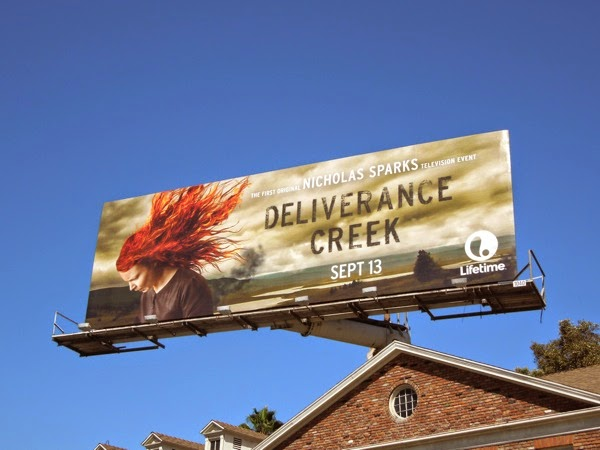 Deliverance Creek tv movie premiere billboard