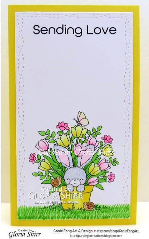 Featured Card at Crafty Animals Challenge Blog