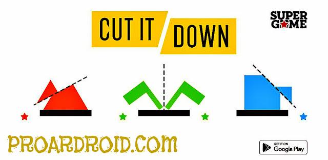 لعبة الألغاز Cut It: Brain Puzzles Apk v1.1.2 كاملة للاندرويد (اخر اصدار) logo